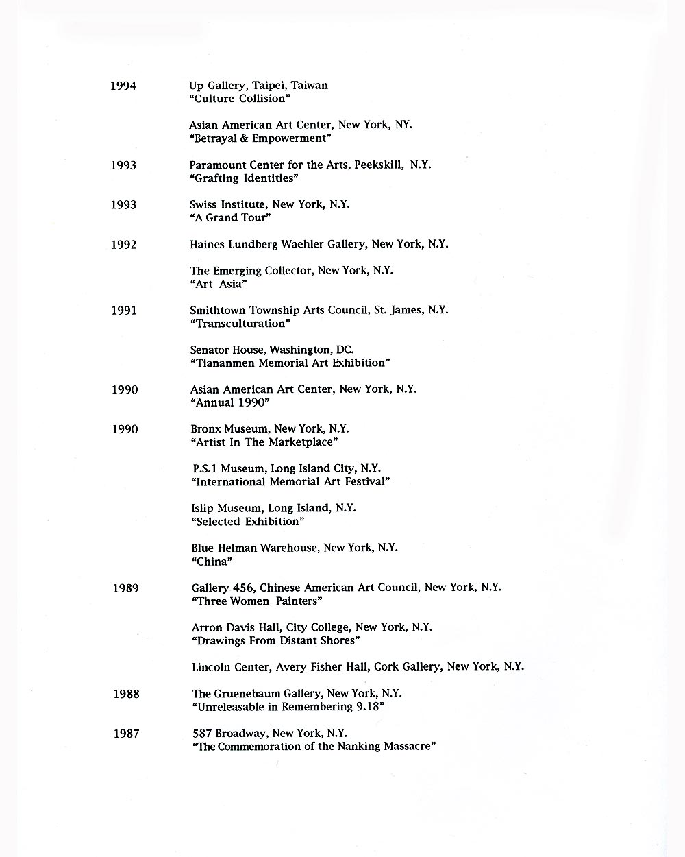 Sui Ying Hung's Resume, pg 2